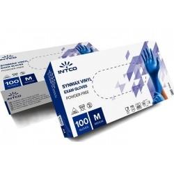 Intco Synmax Εξεταστικά Γάντια Βινυλίου Μπλε Χωρίς...