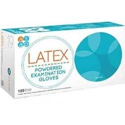 Asap Latex Powdered Gloves Εξεταστικά Γάντια μιας...
