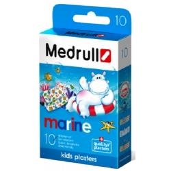 Medrull Marine Kids Plasters Αδιάβροχα Αυτοκόλλητα...