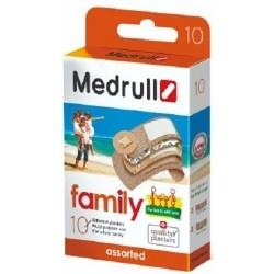 Medrull Family Αυτοκόλλητα Επιθέματα Ποικιλία 10τμχ