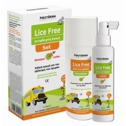 FrezyDerm Lice Free Set Aντιφθειρική Aγωγή 2 x 125 ml