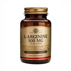 Solgar L-Arginine Αργινίνη 500mg 50Veg. Caps