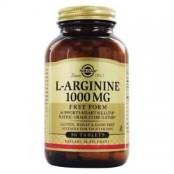 Solgar L-Arginine Αργινίνη 1000mg 50Veg. Caps