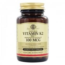 Solgar Vitamin K2 Βιταμίνη Κ2 στη Μορφή ΜΚ-7 100mg...