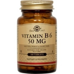 Solgar Vitamin B6 50mg Συμπλήρωμα Διατροφής...