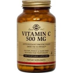 Solgar Vitamin C Βιταμίνη C 500mg 100Veg. Caps