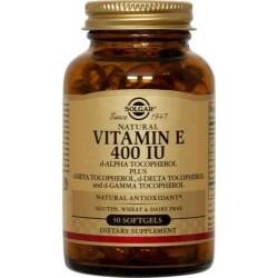 Solgar Vitamin E Βιταμίνη Ε 400IU 50Gels