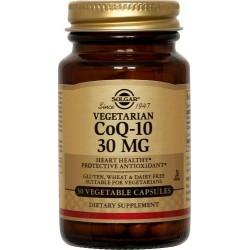 Solgar Vegetarian CoQ-10 Συνένζυμο Q10 30mg 30Veg. Caps