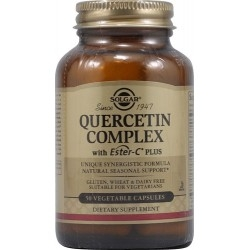 Solgar Quercetin Complex Συνδυασμός Κουερσετίνης με...