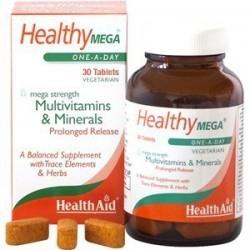 Health Aid Healthy Mega Πολυβιταμινούχο Συμπλήρωμα...