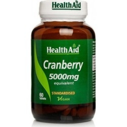 Health Aid Cranberry Extract 5000mg Τιτλοδοτημένο...
