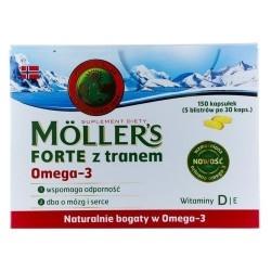 Moller's Forte Omega-3 Μίγμα Ιχθυέλαιου &...