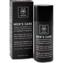 Apivita Men's Care Κρέμα Κατά των Ρυτίδων για...