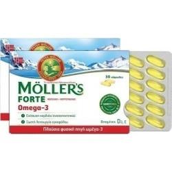 Moller's Forte Omega-3 Συμπυκνωμένο Ιχθυέλαιο...
