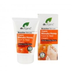 Dr.Organic Manuka Honey Foot & Heel Cream Κρέμα...