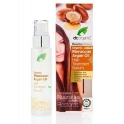 Dr.Organic Argan Oil Hair Serum Λάδι Μαλλιών με...