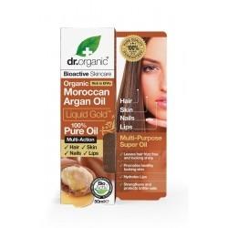 Dr.Organic Moroccan Argan Oil Liquid Gold 100% Αγνό...