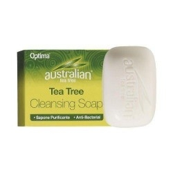 Optima Australian Tea Tree Soap Αντισηπτικό Σαπούνι 90g