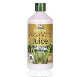 Optima Aloe Vera Juice Maximum Strength Χυμός Αλόης 1lt