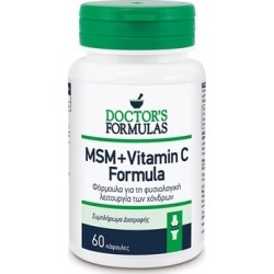 Doctor's Formulas Msm + Vitamin C Φυσιολογική...