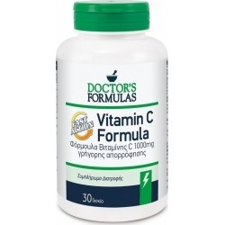 Doctor's Formulas Vitamin C Βιταμίνη C Γρήγορης...