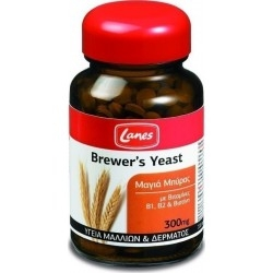 Lanes Brewers Yeast Συμπλήρωμα Διατροφής με Μαγιά...