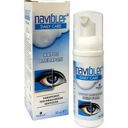 Naviblef Daily Care Αφρός Καθαρισμού Βλεφάρων 50ml