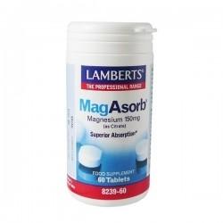 Lamberts MagAsorb 150mg Μαγνήσιο σε Μορφή Κιτρικού...