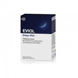 Eviol Sleep Well Συμπλήρωμα Διατροφής για Ρύθμιση...