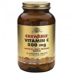 Solgar Vitamin C 500mg Orange Μασώμενη Bιταμίνη C...