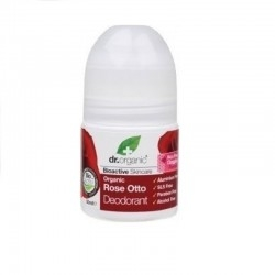 Dr.Organic Rose Otto Roll-On Αποσμητικό με Βιολογικό...