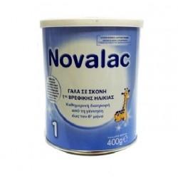 Novalac 1 Γάλα σε Σκόνη για βρέφη 0-6m 400g