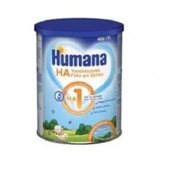 Humana HA 1 Υποαλλεργικό Γάλα για Βρέφη 400g