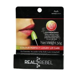 Real Rebel Colour Perfect Lip Care Κραγιόν που...