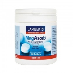 Lamberts MagAsorb Μαγνήσιο Υψηλής Απορρόφησης 180 Tabs