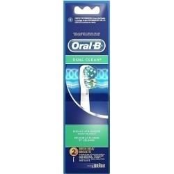 Oral B Dual Clean Ανταλλακτικά Βουρτσάκια 2 τμχ