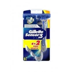 Gillette Sensor 3 Ξυραφάκια μιας Χρήσης, 4 τεμάχια +...