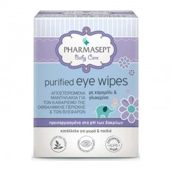 Pharmasept Baby Purified Eye Wipes Οφθαλμικά...