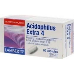Lamberts Acidophilus Extra 4 Προβιοτικό Σκεύασμα 60...