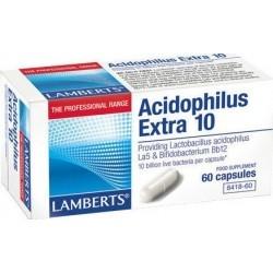 Lamberts Acidophilus Extra 10 Προβιοτικό Σκεύασμα 60...
