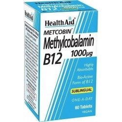 Health Aid Methylcobalamin Metcobin B12 1000mg...