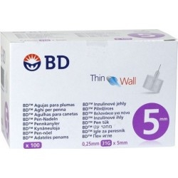 BD Micro-Fine + 5mm Αποστειρωμένες βελόνες...