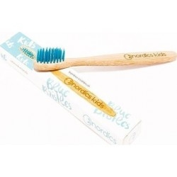 Nordics Kids Bamboo Toothbrush with Blue Bristles...