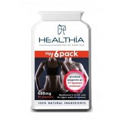 Healthia My 6 Pack Ισχυρή Φόρμουλα για τον Έλεγχο...