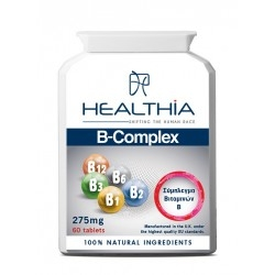 Healthia B-Complex Συμπλήρωμα Διατροφής με Σύμπλεγμα...