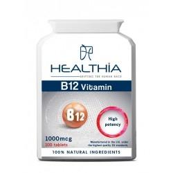 Healthia Vitamin Β12 Συμπλήρωμα Διατροφής με...