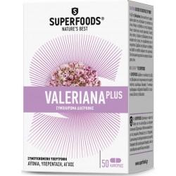 Superfoods Valeriana Plus Stress & Libido 50 Kάψουλες