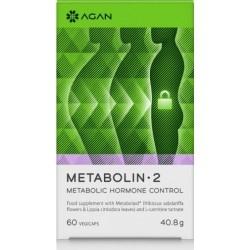 Agan Metabolin 2 Συμπλήρωμα για Αδυνάτισμα 60 Κάψουλες