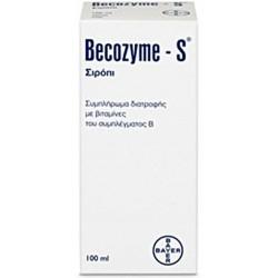 Bayer Becozyme S Σιρόπι Σύμπλεγμα Βιταμινών B 100mL