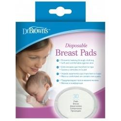 Dr. Brown's Επιθέματα Στήθους μίας Χρήσης 30τμχ